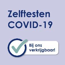 Zelftest COVID-19 beschikbaar!