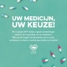 Per 1 januari 2019 gaat zorgverzekeraar Zorg en Zekerheid een voorkeursbeleid op uw geneesmiddelen voeren
