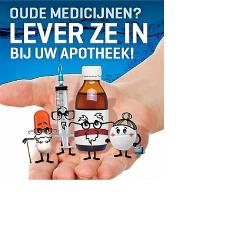 Medicijnafval: niet weggooien maar inleveren