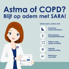 Persoonlijk adviesgesprek over astma of COPD