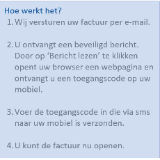 Factuur via email