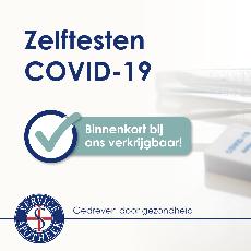 Covid zelftest nu beschikbaar