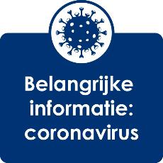 Belangrijke informatie Coronavirus