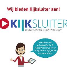 Wilt u uw bijsluiter online bekijken? Maak gebruik van Kijksluiter.