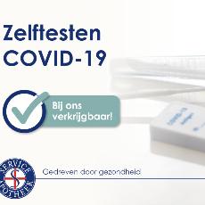 COVID-19 zelftest beschikbaar