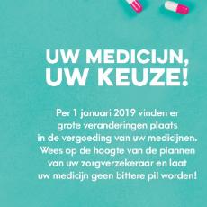 Per 1 januari 2019 gaat uw zorgverzekeraar Zorg en Zekerheid een voorkeursbeleid op uw geneesmiddelen voeren