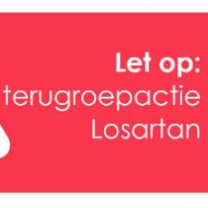 Terugroepactie Losartan