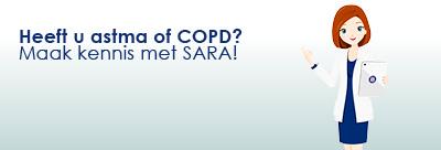 SARA voor patiënten met astma en COPD