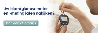 Laat uw bloedglucosemeter nakijken door uw Service Apotheek